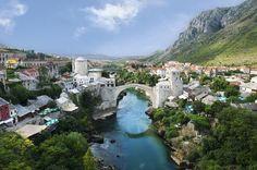Ponte di Mostar, simbolo della Bosnia Erzegovina