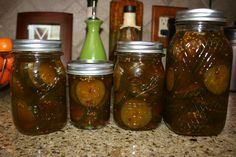 Sweet Lime Pickles from the Pioneer Woman