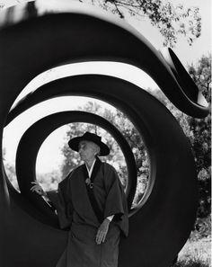 Georgia O'Keeffe by Bruce Weber - Abiquiu, N. M. 1984