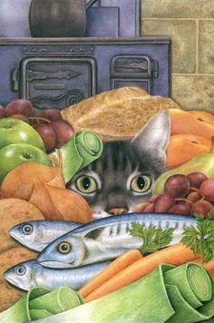 ilustración de Anne Mortimer