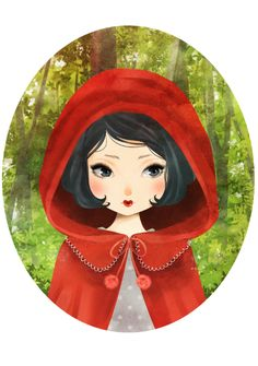 Little Red Hood by melina-m on deviantART http://melina-m.deviantart.com/art/Little-Red-Hood-380181553