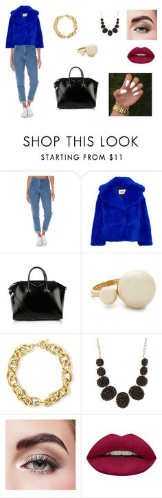 """Senza titolo #49"" by elisa917 on Polyvore featuring moda, Wrangler, MSGM, Givenchy, Kate Spade, BERRICLE, Charlotte Russe, Avon e Huda Beauty"