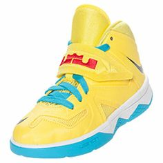 Boys\u0027 Preschool Nike Soldier 7 Basketball Shoes | FinishLine.com | Sonic  Yellow/