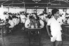 The tuckshop at Raffles Institution, 1960 - 1970 Singapore Photos, Nostalgia, Chinese, Chinese Language