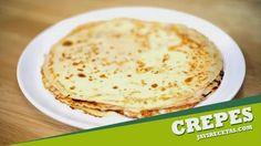 FILLOAS/CREPS. Recetas   para desayunar, merendar o para cenar con algún relleno salado.  http://www.javirecetas.com/crepes-receta-de-crepes/
