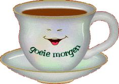 Animated Gif by krabbelteam Good Morning Cartoon, Good Morning Gif, Good Morning Images, Good Morning Quotes, Emoji Pictures, Coffee Love, Coffee Corner, Coffee Quotes, Say Hello