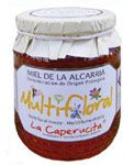 Spanish Polyfloral Honey Caperucita 500 g. The aroma and flavour is a combination of the flavours of rosemary and lavender ones, therefore it is similar to menthol. The colour is also a combination of the colors of the mentioned above honeys, and may even be a dark reddish color. Miel de La Alcarria PDO  €6.00