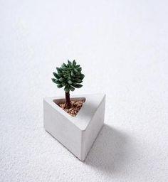 欧美风三角形水泥花盆模具多肉植物水泥花盆模具-淘宝网