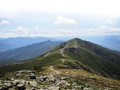 Appalachian Trail on sunny day, White Mountains Franconia Ridge, New Hampshire; Shutterstock ID 311087024; PO: magazine