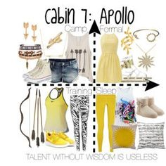 Cabin 7: Apollo I honestly thought the quote would be like 'Apollo is Fabulous'