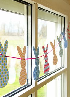 DIY: Easter Garland | mindoel | Flickr