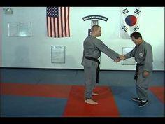 Ji Han Jae Hapkido Techniques for Tough Guy Grab Thumbs Up - YouTube