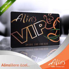 VIP Card başvurunuzu yaptınız mı? Alins VIP Card, Alins'te harcama yaptıkça para puan biriktiren;  biriktirdiğiniz puanlarla Alins restaurantlarında ücretsiz harcama yapabileceğiniz bir kart…