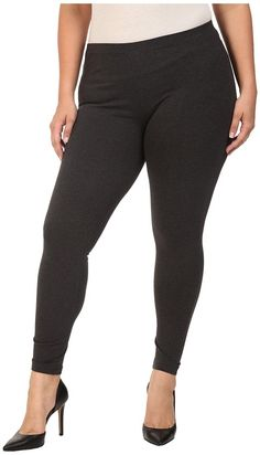 HUE Plus Size Cotton Legging * Read more reviews of the product by visiting the link on the image.