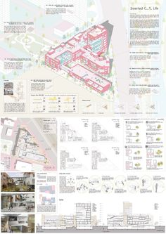 Competition - 2016 The LH college Housing War - to Competition - 2016 Architecture Concept Diagram, Architecture Panel, Architecture Visualization, Education Architecture, Architecture Design, Architecture Diagrams, Building Architecture, Presentation Board Design, Architecture Presentation Board