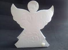 Resultado de imagem para como fazer anjinhos de papel