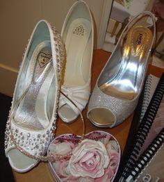 Bridal Shoes by Pink of Paradox London www.bellabridesuk.com