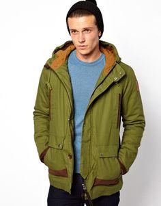 Revolution Parka Jacket With Contrast Pockets