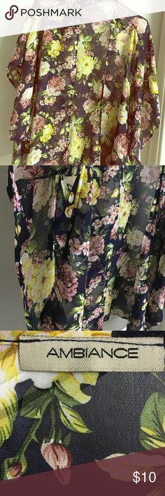 Floral Kimono Very cute kimono, I just don't wear it often! Ambiance Apparel Tops Blouses