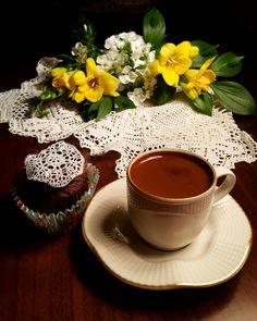 Good Morning Coffee, Coffee Love, Tea Time, Tea Cups, Treats, Breakfast, Tableware, Morning Coffee, Dreams
