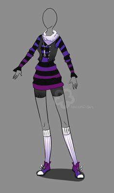 Outfit Adopt - sold by Nahemii-san.deviantart.com on @deviantART