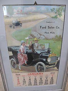 Model T Ford Forum: Ford calendar for 1916