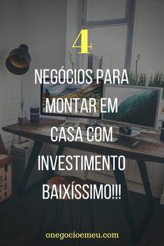 Vem conferir essas 4 dicas de negócios super rentáveis com investimento muuuuito baixo!!!  #trabalharemcasa#ideias#ideiasparatrabalharemcasa#rendaextraemcasa#comotrabalharemcasa#ComoGanharDinheiroTrabalhandoEmCasa#TrabalharEmCasa#ComoTrabalharEmCasa#ComoGanharDinheiroSemSairDeCasa#FormasDeTrabalharEmCasa#DicasDeComoGanharDinheiroEmCasa#TrabalharPelaInternet#IdeiasParaGanharDinheiroEmCasa#MarketingDigital#MarketingDeAfiliado#VenderComoAfiliado Marketing Online, Digital Marketing, Online Work, Money Tips, Coaching, Business, Blog, Life, Home Office