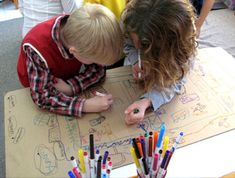 Project Approach website has information on how to develop curricula with children and examples