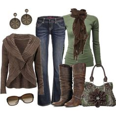 Love the whole fall/winter look but not possible for this Florida girl