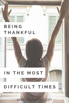 Have you ever gone through a really rough season of life? Here's what I've learned about being thankful while battling Lyme Disease, depression, anxiety, and more.  God is in control!