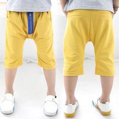 Aliexpress.com : Buy 2014 summer zipper boys clothing baby child trousers knee length 5 pants kz 1997 on Kids Fashion Clothing - Worldwide W...