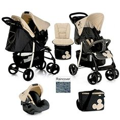 ACCESSORIES FROM BIRTH ALMOND HAUCK SHOPPER SLX SHOP N DRIVE TRAVEL SYSTEM