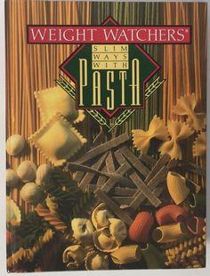 Vtg Weight Watchers Cookbook Slim Ways With Pasta Dieting Cooking Foodie Carbs