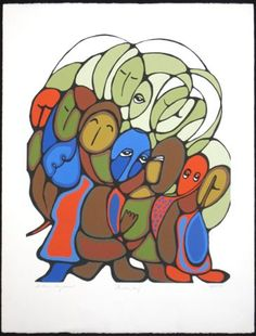 daphne odjig | Daphne Odjig Art Gallery - Gallery Indigena Inc., Stratford, Ontario ...