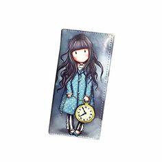 LHWY Femmes Cartoon Graffiti LORI Fille Longue Porte-monnaie sac à main (Bleu1): Tweet Caractéristiques: 100% marque de qualité nouvelle et…