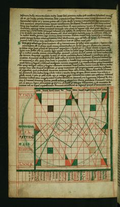 Illuminated Manuscript, Compendium of computistical texts, Diagram of planetary courses in the zodiacal signs, Walters Art Museum Ms. W.73, fol. 5v by Walters Art Museum Illuminated Manuscripts, via Flickr