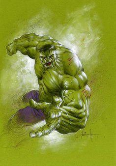 The Hulk by Lucio Parrillo *