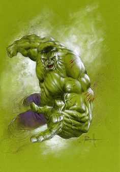 The Hulk by Lucio Parrillo *