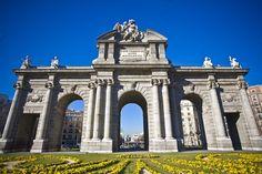 La Puerta de Alcalá, Madrid, Spain