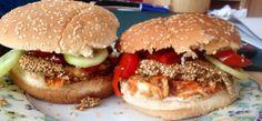 Aisa-Sesam-Burger vegan