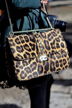 88f29a02532 A is for Animal Print - Statement satchel · Estampados De AnimalesMochila De  ModaBolsos ...