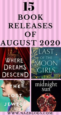 15 Anticipated Book Releases of August 2020 | Are you looking for some books to read this August? Here's a list of 15 Anticipated Book Releases Of August 2020 that have caught my attention and I'm excited to read them this August! #books #bookstoread #newbooks #august2020books