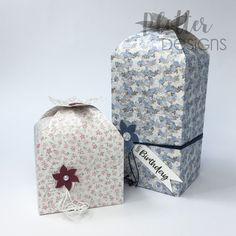 Plotterdatei Top-Box-Blume von PlotterDesigns Cricut, Maker, Bottle, Box, Design, Home Decor, Co Worker Gifts, Binder, Packaging