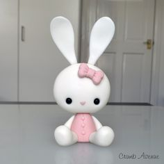 DIY Cute Polymer Clay Bunny Step-by-Step Tutorial