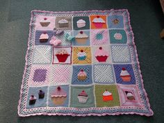 Thank you to all the Ladies who have contributed to the 'Cupcake Blanket'. 'Please add note if you see your Square'. I love your Squares Tha...