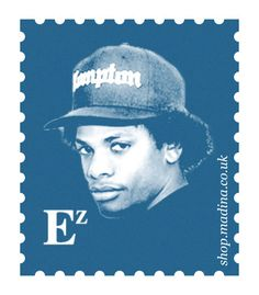 Eazy E...I met him, talked with him, he gave me a big hug, and I'll never forget what a sweety he was. Rest in Peace Eazy E.
