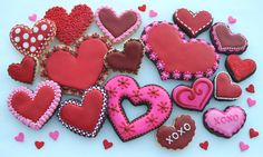 Valentine Hearts - Shades of Red | Flickr - Photo Sharing!