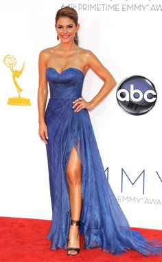 Emmy Awards, Maria Menounos. Gorgeous, though she's not the only one wearing these shoes to the Emmys.