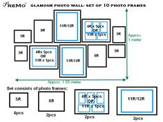 dimensional wall frame set - Google Search