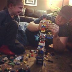 These two when they smile! #meltme #legowars
